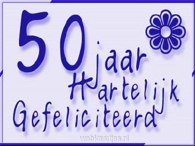 leuke 50 jaar spreuken Gedichten 50 Jaar Hoera   ARCHIDEV leuke 50 jaar spreuken